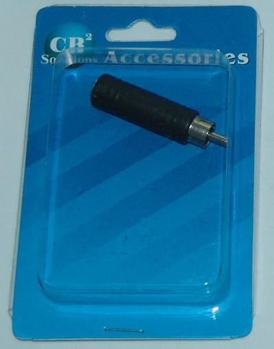 CBI Male RCA to Female 1/4 inch CB2-C336