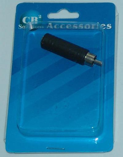 CBI Male RCA to Female 1/4 inch CB2-C336