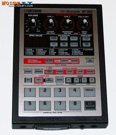 Noisefx Boss Dr Sample Sp 303