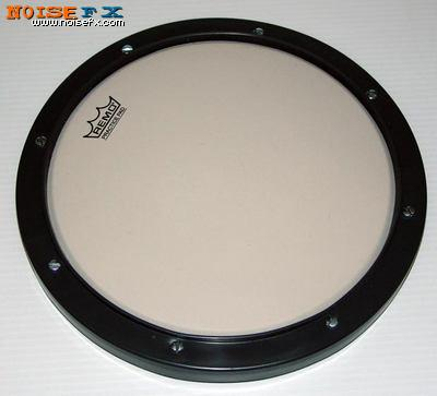 noisefx remo practice drum pad 10 inch modified for e drums. Black Bedroom Furniture Sets. Home Design Ideas