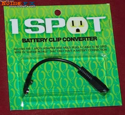 Visual Sound 1 SPOT Battery Clip Converter CBAT