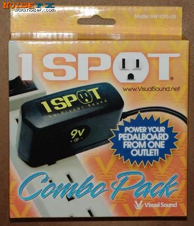 Noisefx Visual Sound 1 Spot Combo Pack Nw1cp2 Us